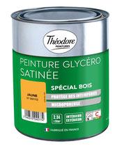Laque Theodore Peintures Glycero Satinée spécial bois