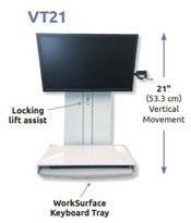 ICWUSA VT21 ロープロファイル ワークステーション
