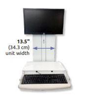 ICWUSA VTLP ロープロファイル ワークステーション