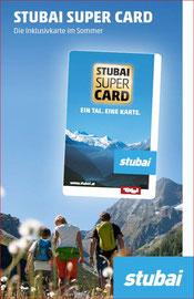 Mitgliedsbetrieb der Stubai-Super-Card!