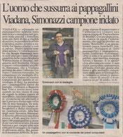 Articolo tratto dal giornale La Provincia di Cremona del 28 Febbraio 2014 (clicca sulla foto per ingrandire)