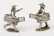 Chin-chin Chinchin Doudou Figurine étain miniature Lumeçon