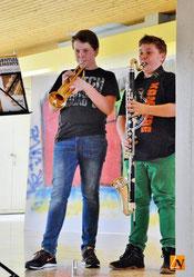 Max & Moritz vom Vororchester unterwegs!