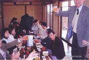 昼食(うどん店にて)
