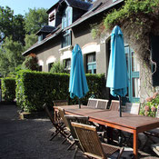 Gîte le Cocher palefrenier at Belle Epoque estate in Linxe 40