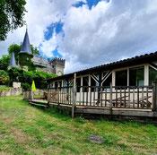 Gîte la Serre at Belle Epoque estate in Linxe 40