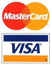 Kreditkarte Mastercard Visa