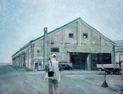 旅先・小樽港の倉庫Ⅰ