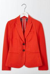 Jersey Blazer für den A-typen