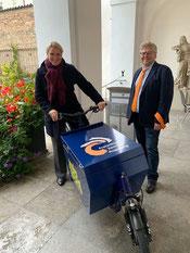 Freiwilligen-Zentrum Augsburg - LeihLa – Das Leih-Lastenrad des FZA