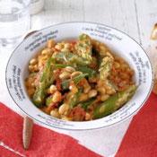 おくらと大豆のトマト煮