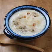 大根と春雨の豆乳味噌スープ