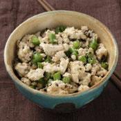 さやいんげんの炒り豆腐