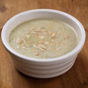 焼きさつまいものマッシュ豆乳スープ