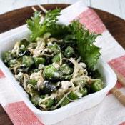 ヌルヌル豆腐サラダ