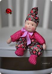 Кукла из ткани для самых маленьких
