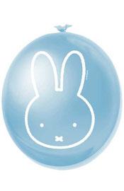 Ballonnen Nijntje blauw 6 stuks € 2,25