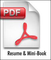 Seattle Senior Copywriter resume, Seattle copywriter mini-book