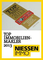 NIESSEN.IMMOBILIEN TOP IMMOBILIENMAKLER 2013