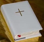 Gotteslob Umschlag weiss