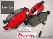 ベンツ ブレーキパッド Brembo製