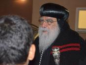Besuch S.E. Anba Pachomius in Graz - Okotber 2013