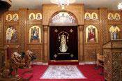 Bilder der Kirche der hl. Jungfrau Maria und des hl. starken Anba Moses