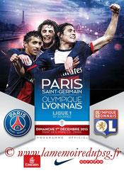 Programme  PSG-Lyon  2013-14