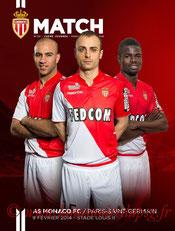 Programme  Monaco-PSG  2013-14