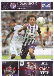 Programme  Toulouse-PSG  2013-14