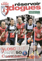 Programme  Lille-PSG  2013-14