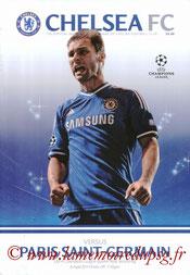 Programme  Chelsea-PSG  2013-14