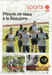 Programme  Nantes-PSG  2013-14 (supplément Ouest France)