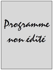 Programme  PSG-Troye  2015-16