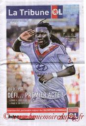 Programme  Lyon-PSG  2013-14