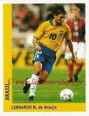 N° 028 - LEONARDO (1996-Août 97, PSG > 1998, Brésil > Juil 2011-Juill 2013 > Directeur sportif PSG))
