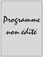 Programme  Hammarby-PSG  2013-14