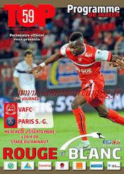 Programme  Valenciennes-PSG  2013-14