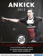 Affiche  Strum Graz-PSG  2013-14