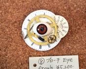 (商品番号J-22) ⑧ブローチ Eye/freak 作