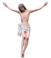 Body of Christ statue cm. 160