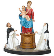 Our Lady of The Rosary statue cm. 84
