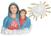 Our Lady of The Arch statue cm. 80