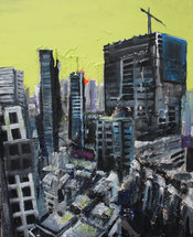 Urbane Expansion - Malerei und Struktur