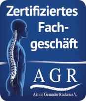 "Logo ""Zertifiziertes Fachgeschäft"", erhalten nach erfolgreicher Teilnahme am Fachhandelslehrgang"