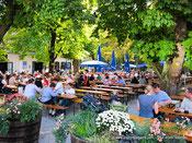 brasserie plein air Munich