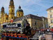 Voyage à Munich - Le défilé de l'Oktoberfest