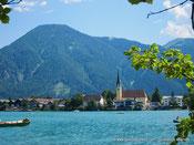 Tourisme en Bavière - le lac de Tegernsee