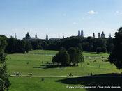 parc anglais munich