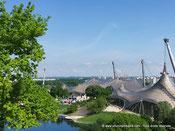 Le parc olympique à Munich
